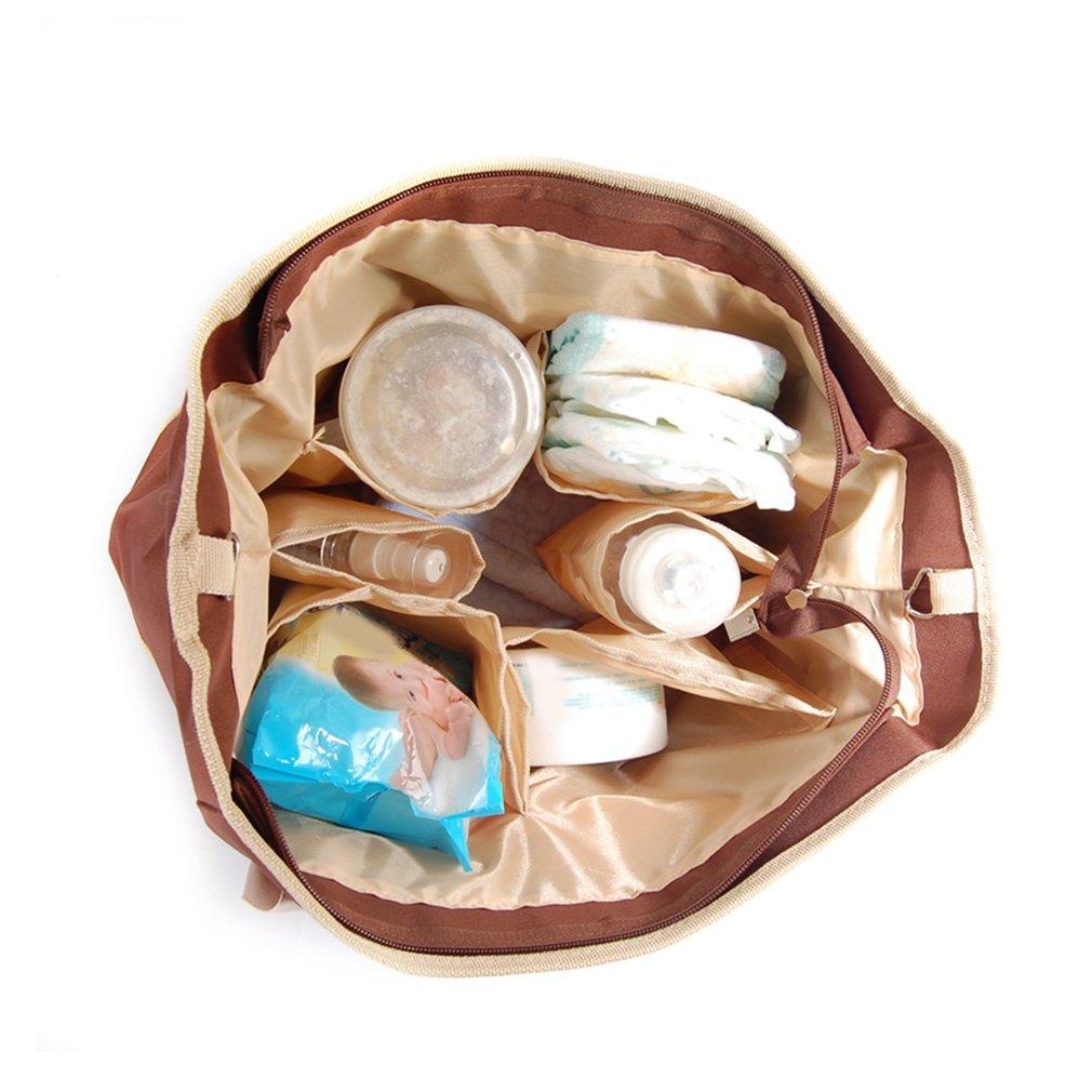 Classic Design Mummy Shopping Bag Diaper Single Shoulder Bag Baby Nappy Bags Waterproof Maternity Mummy Stroller Bag