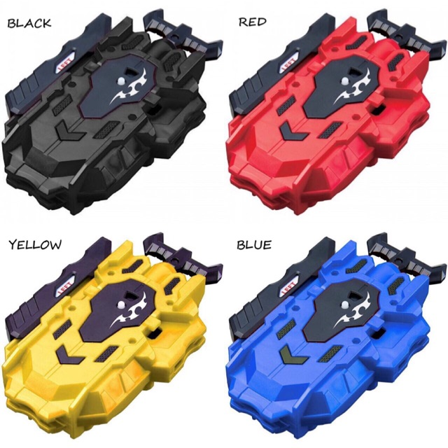 Stock! 4 color beyblade launcher beyblade burst launcher and handle