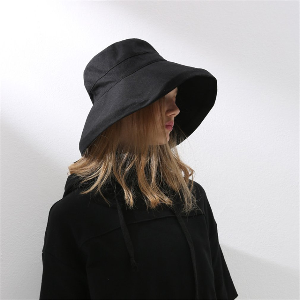Women's Comfortable Bucket Hat, Black