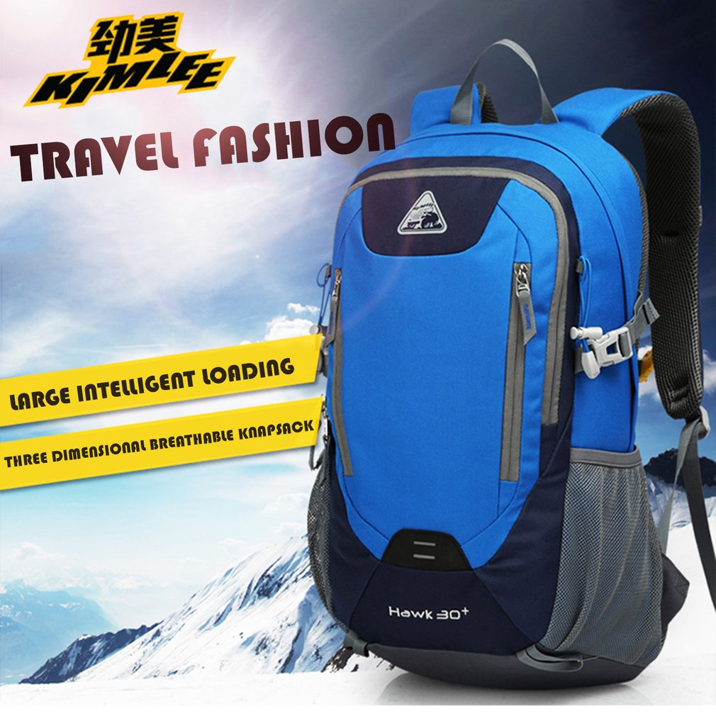 Travelling Hiking Backpack with Computer Interlayer Fits Male and Female