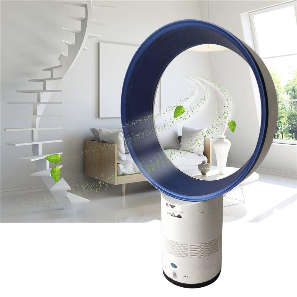 12-Inch Mini Portable Bladeless Fan Children Safe Home Air Conditioner