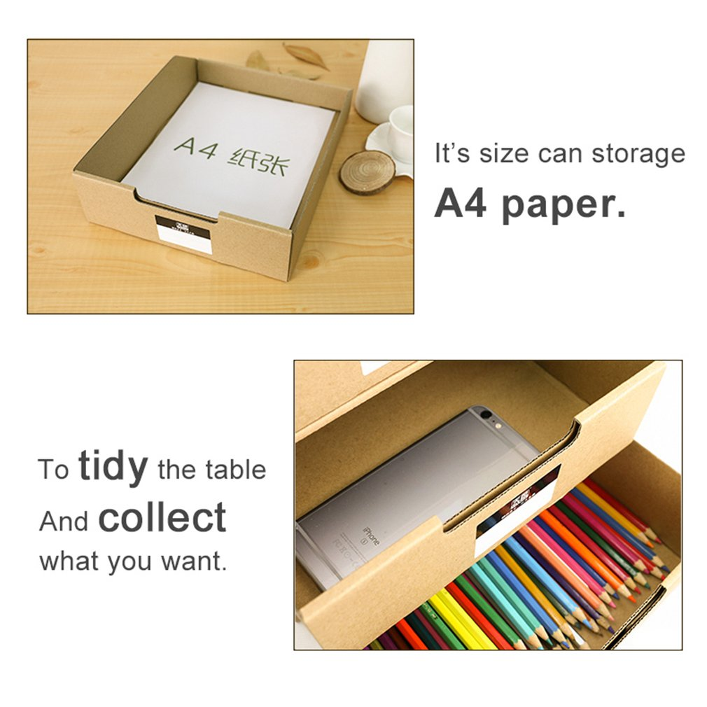 TIANSE TS-1503 Multi-Layers Kraft Paper Files Documents Cabinet Documents Box