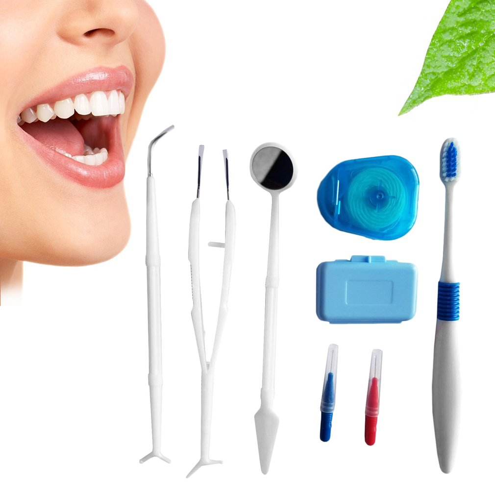 Dental Care Tooth Brush Kit Orthodontic Teeth Toothbrush Interdental Brush