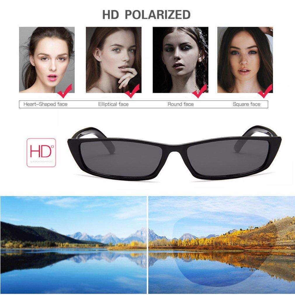 Vintage Square Shape Women Sunglasses Personality UV400 Eyewear Sunglasses PC Frame Resin Lens Travel Sun Glasses