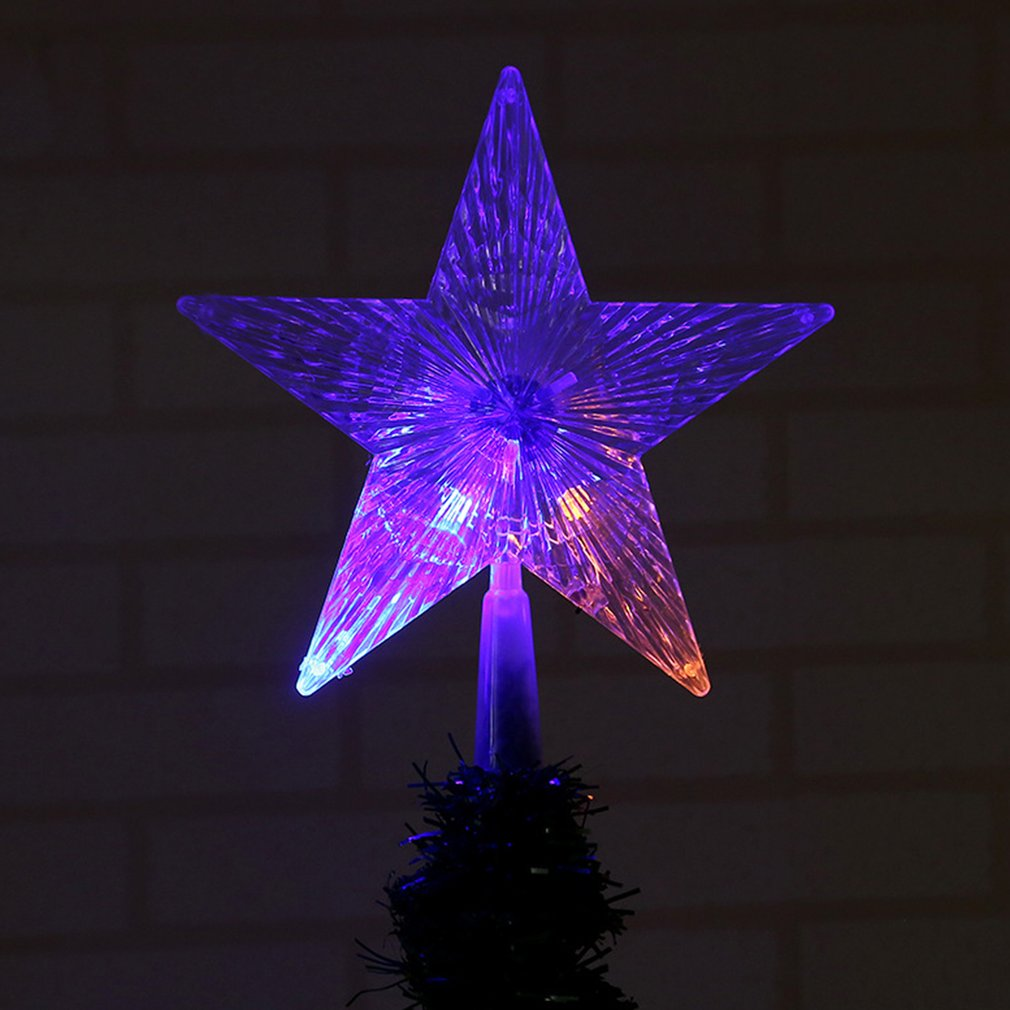 Pentagram Lamp Home Decor Christmas Tree Hanging Star Tree Decorations BZ505