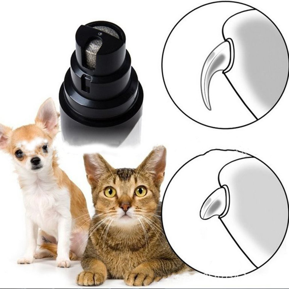 USB Pets Dogs Cats Nail Claw Grooming Grinder Trimmer Claw Toe Nail Grinder