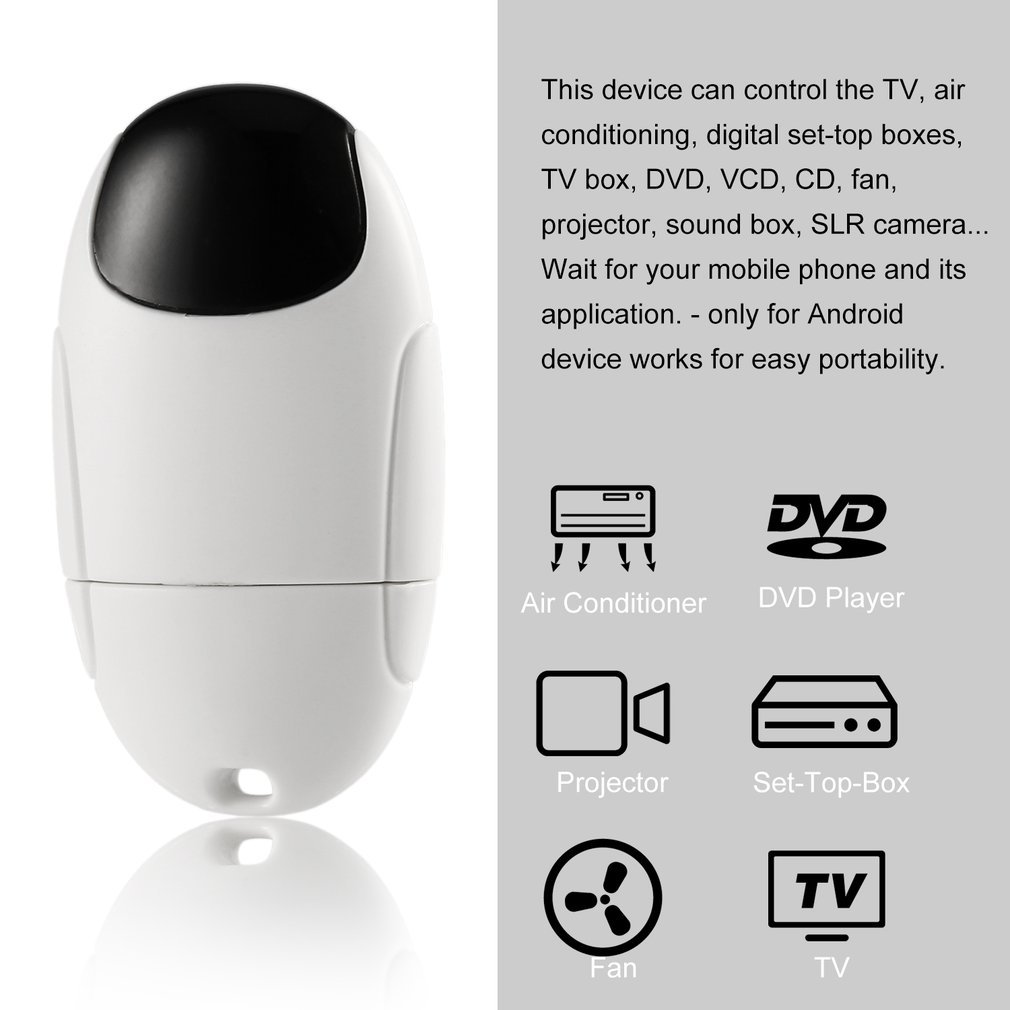 Smartphone Universal Remote Control Extender Infrared Remote for Apple