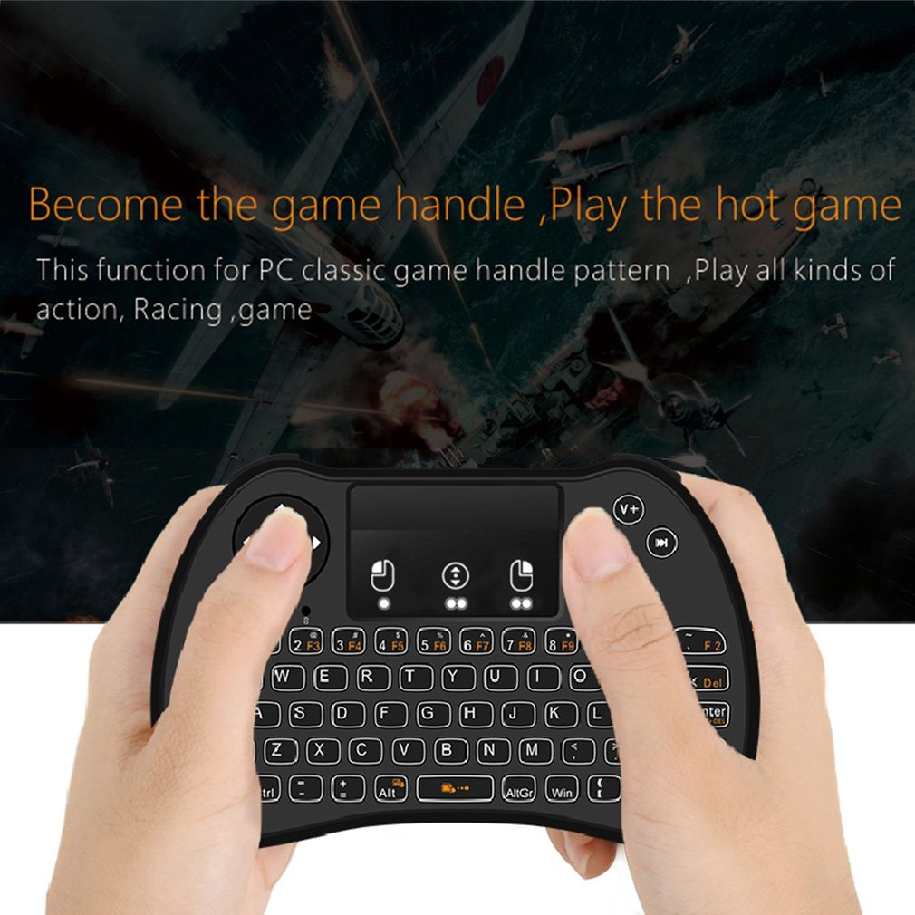 Fly Air Mouse Wireless Keyboard Android Remote Controller 2.4Ghz Keyboard