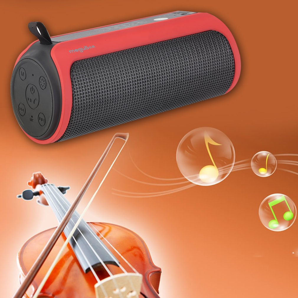 Portable Super Bass Wireless Bluetooth LED Music Speaker For Phone Tablet