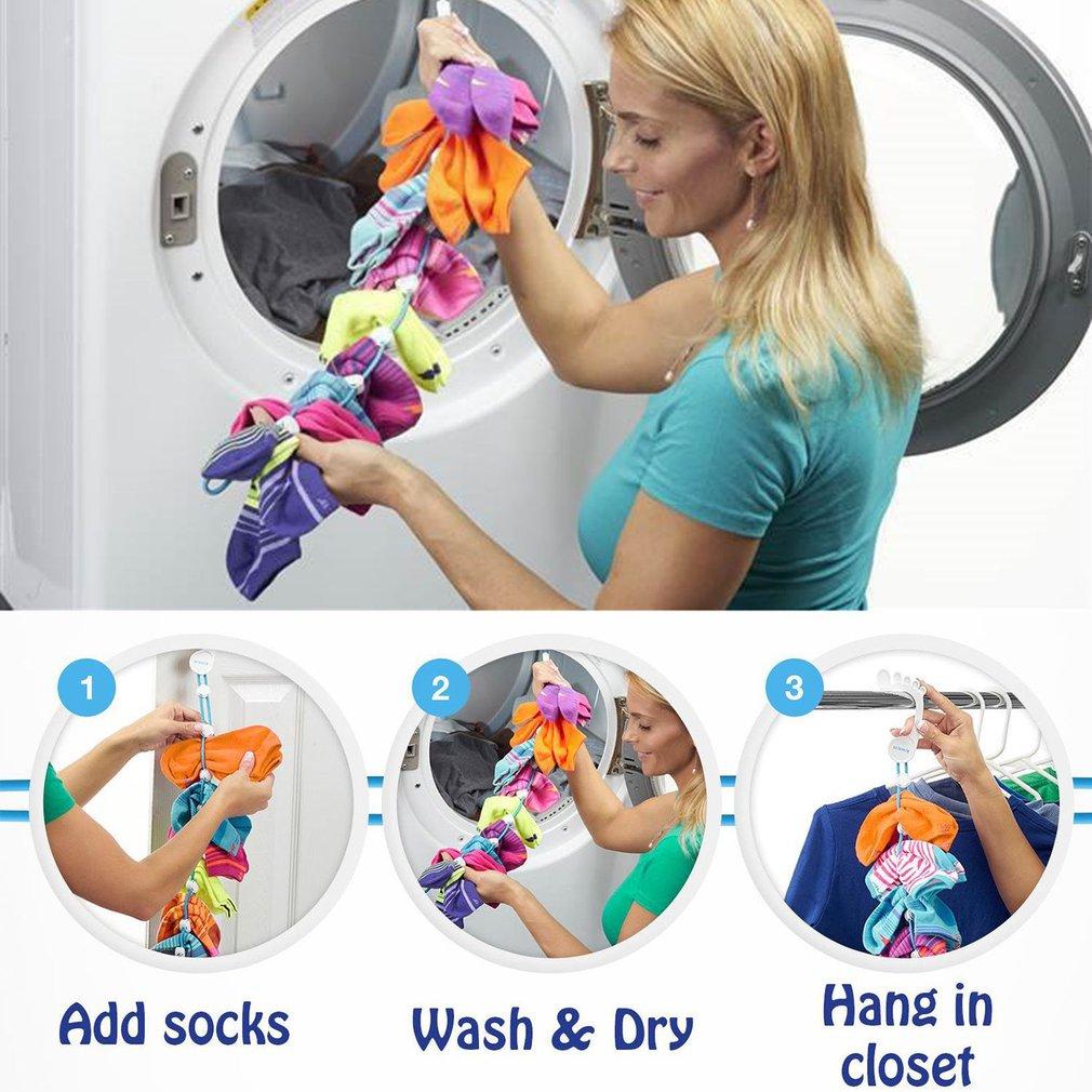 Home Socks Organizer Portable Sock Toiletry Wash Organizer Socks Dry Tools