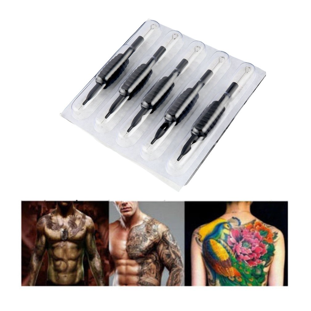 Tattoos And Body Painting 60pcs 19mm U-pick Disposable Tattoo Needles Handle