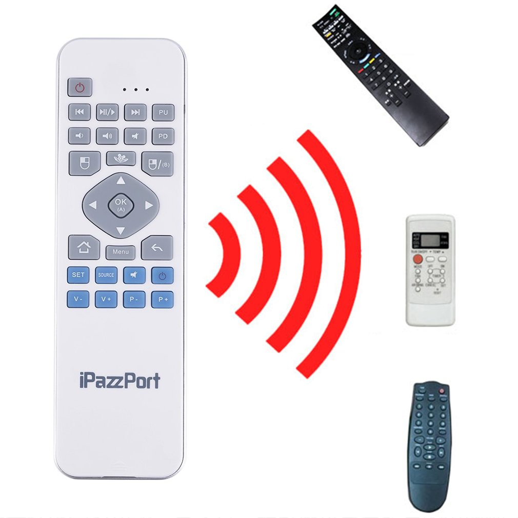 KP-810-30 2 in 1 2.4GHz Wireless Remote Keyboard Mouse for TV HTPC Teaching