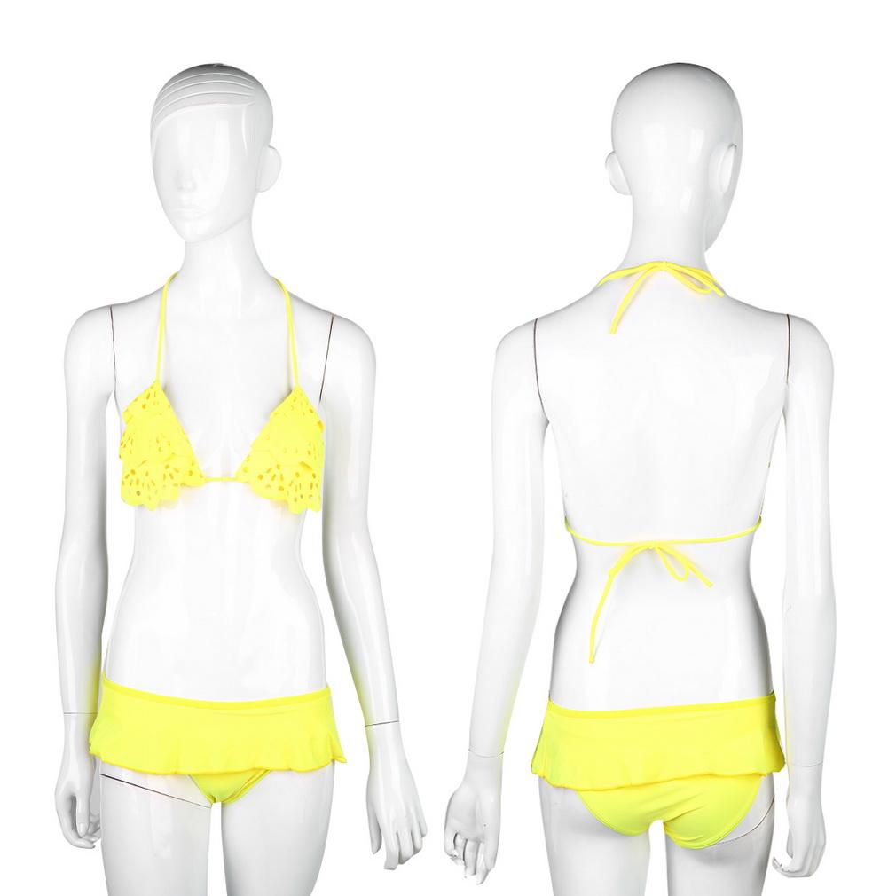 New Cute Sexy Women's Bikini Set Bandage Swimwear Swimsuit Beachwear