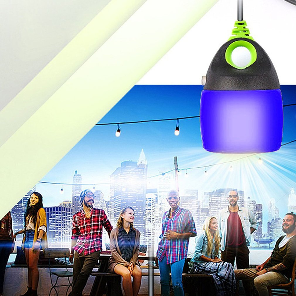 Outdoor Camping Lamp Rechargeable USB Light Retractable Tent Light LED Light