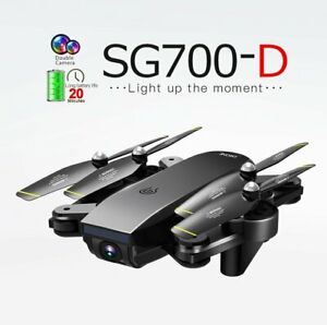SG700-D 4CH 720P Wide-angle WiFi Optical Extra Long Flying Time Drone -3 Battery
