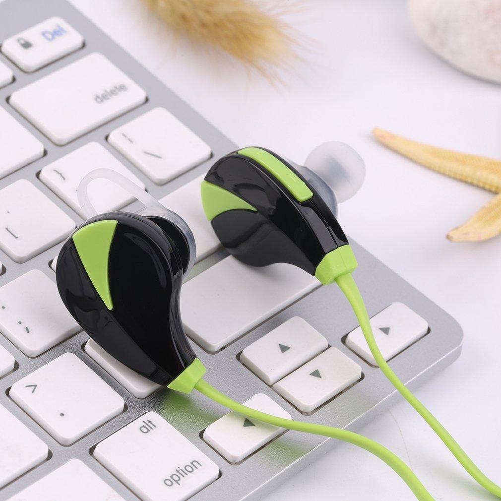 Universal Sports Wireless Bluetooth In-Ear Headphones Flat  Stereo Earphone