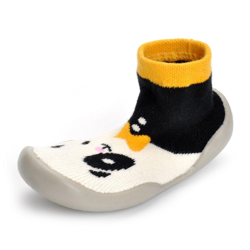 Baby Soft Soled Prewalker Unisex Sock-Like Shoes Clever Cartoon Panda Shoes