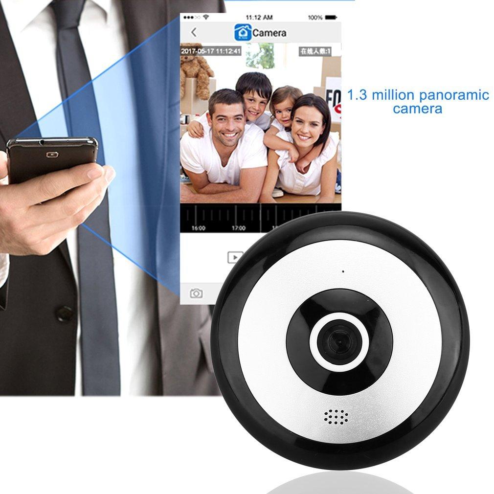 VR WIFI IP Camera H.264 960P HD 360 Degree Visual Angle Lens Panoramic Camera