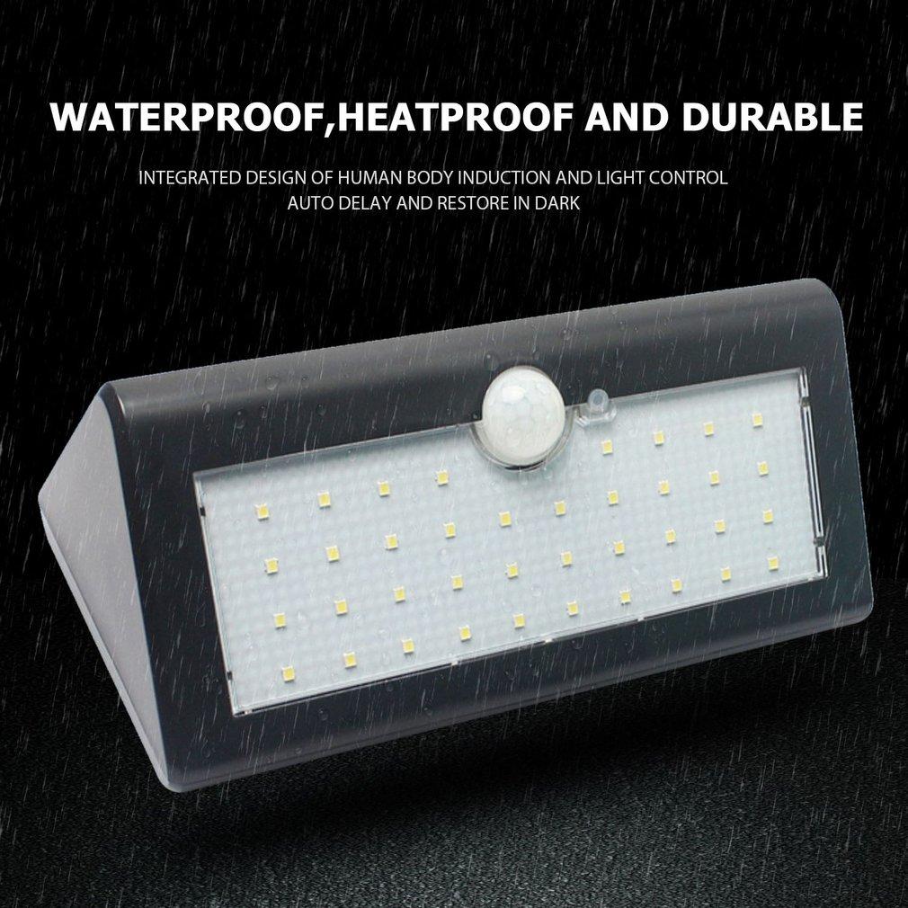 LED Solar Lights Human Body Induction Lamp Solar Sensor Outdoor Lights