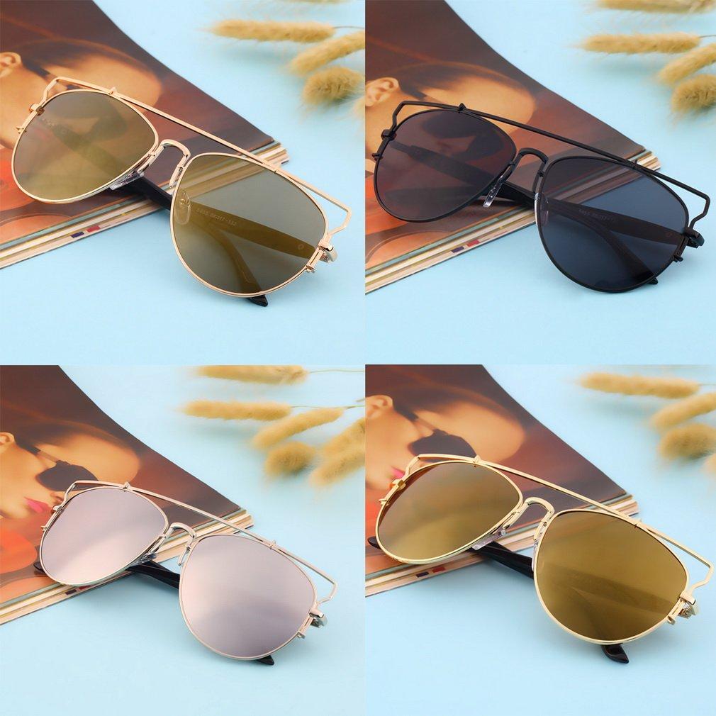 Women Men Metal Wrap Cat Eye Glasses Vintage Fashion Summer Cool Sunglasses