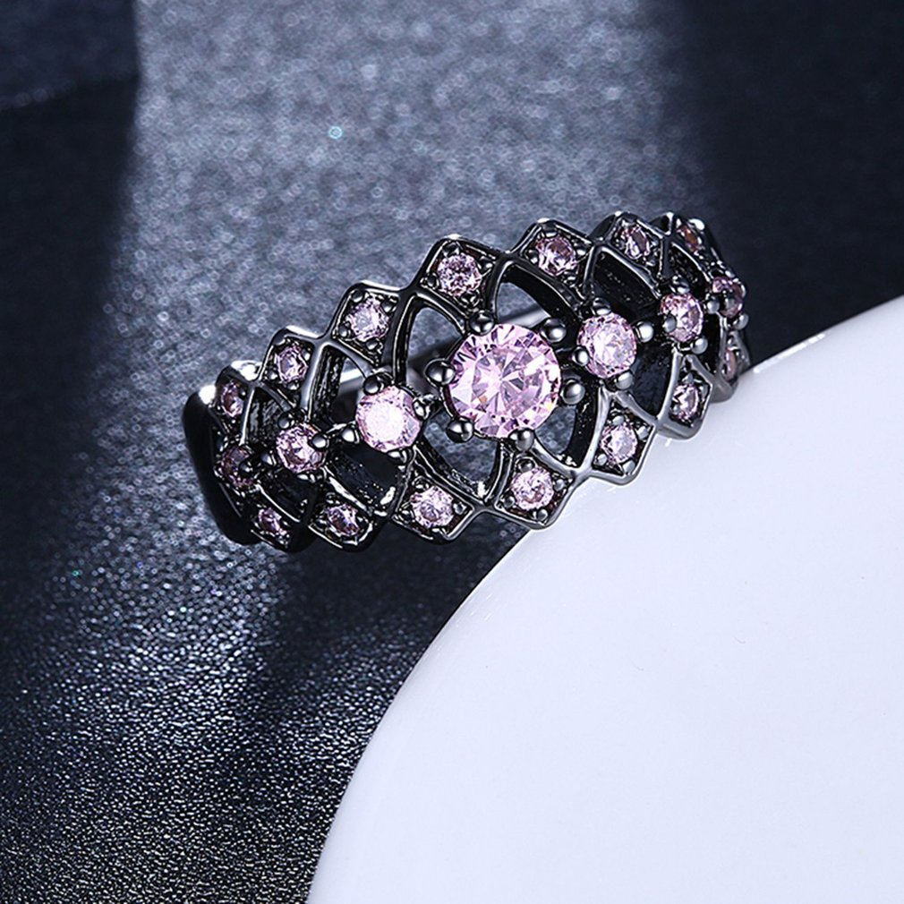 Women's Beautiful Pink Diamond Ring