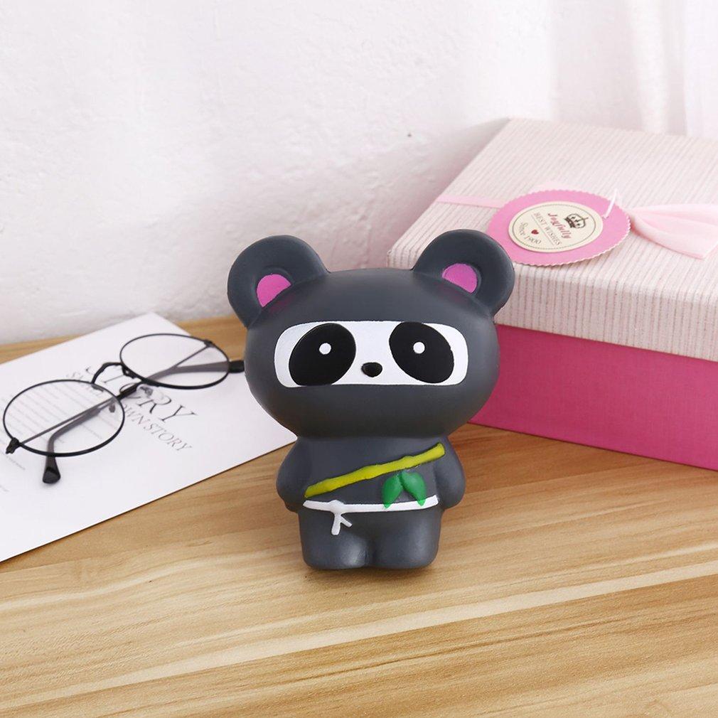 Funny Cartoon Animal Ninja Panda Slow Rising Toy Soft Squeeze Toy Best Gift