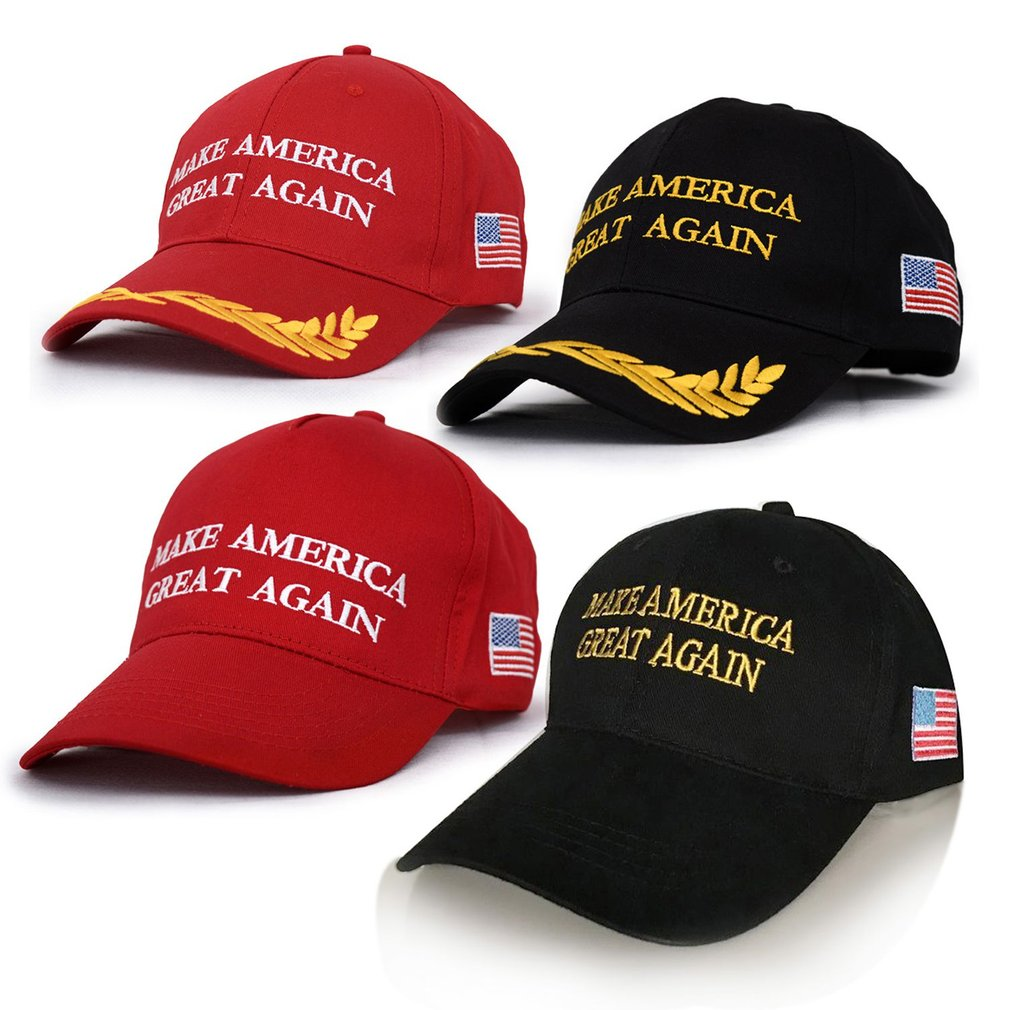 Adjustable Letter Embroidery American People Baseball Cap Snapback Caps