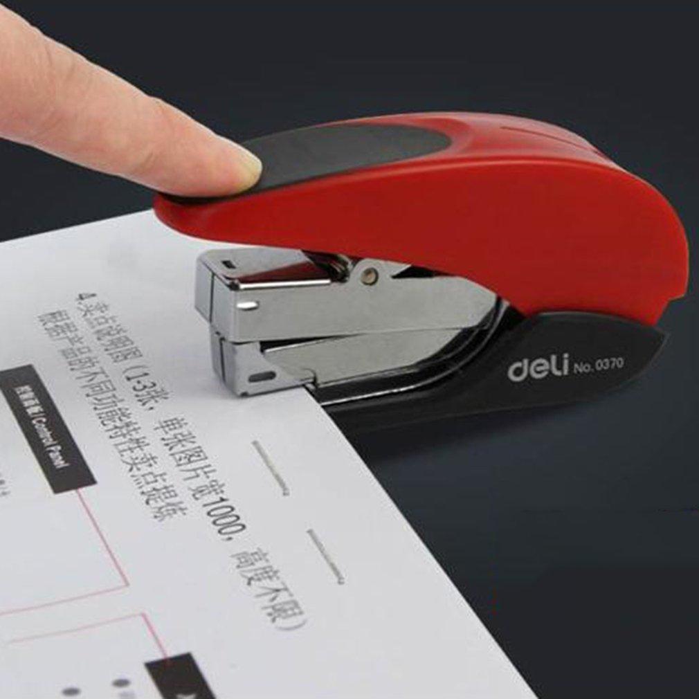 DELI 0370 Labor Saving Repair Book Staplers Metal Stapler Office Supplies