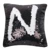Two-color sequin pillowcase