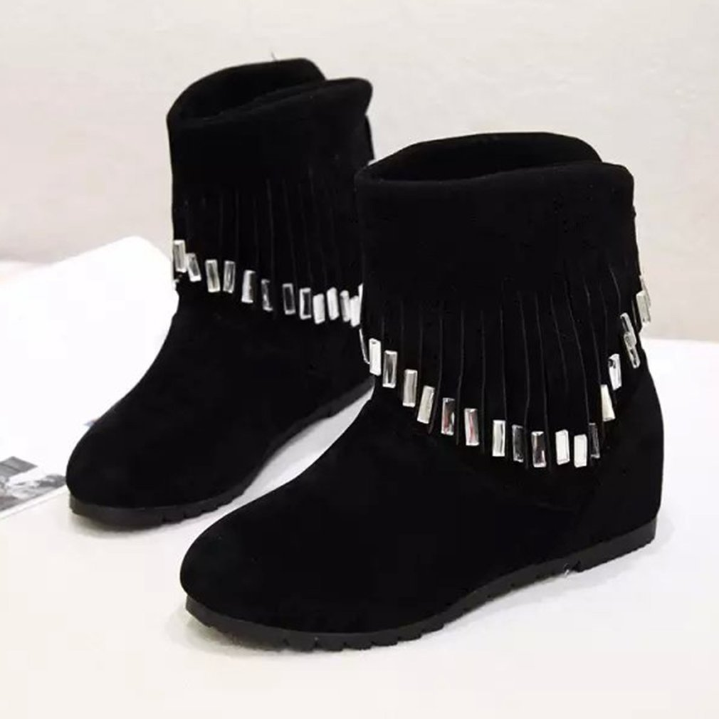 Female Short Boots Martin Boots All-match Snow Boots Women Casual Shoes