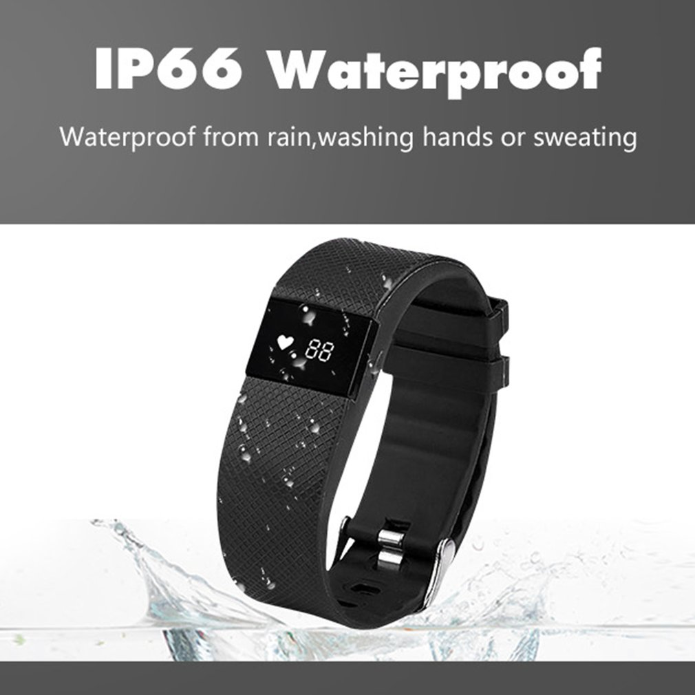 TLW64A Bluetooth Smartband Waterproof Heart Rate Monitoring Smart Bracelet
