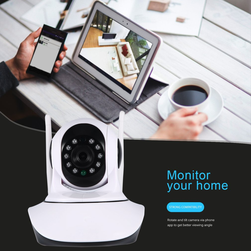DID-906FH Two Million 1080P HD Wireless Network Camera Wi-Fi Home Monitor