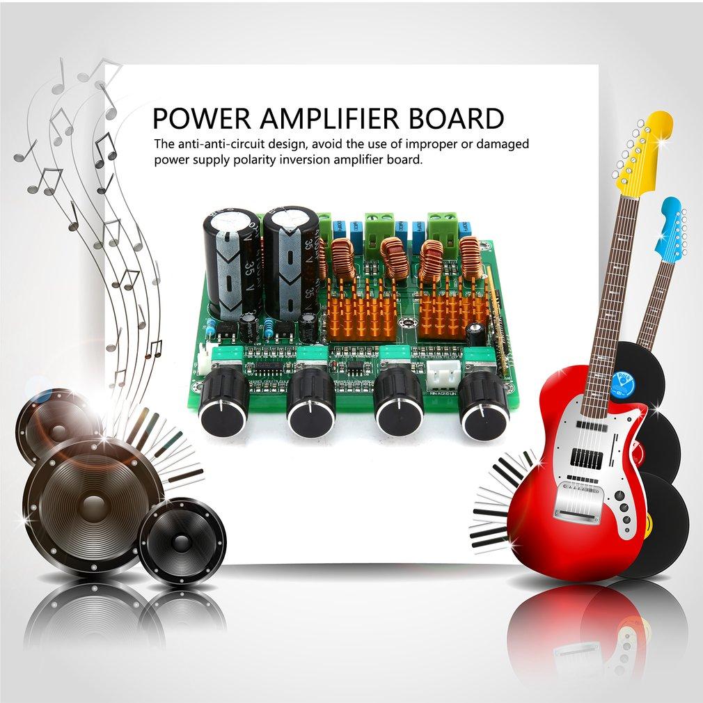 Bluetooth 4.0 Digital 2.1 Class D HIFI Power Amplifier 3CH Super Bass Amp