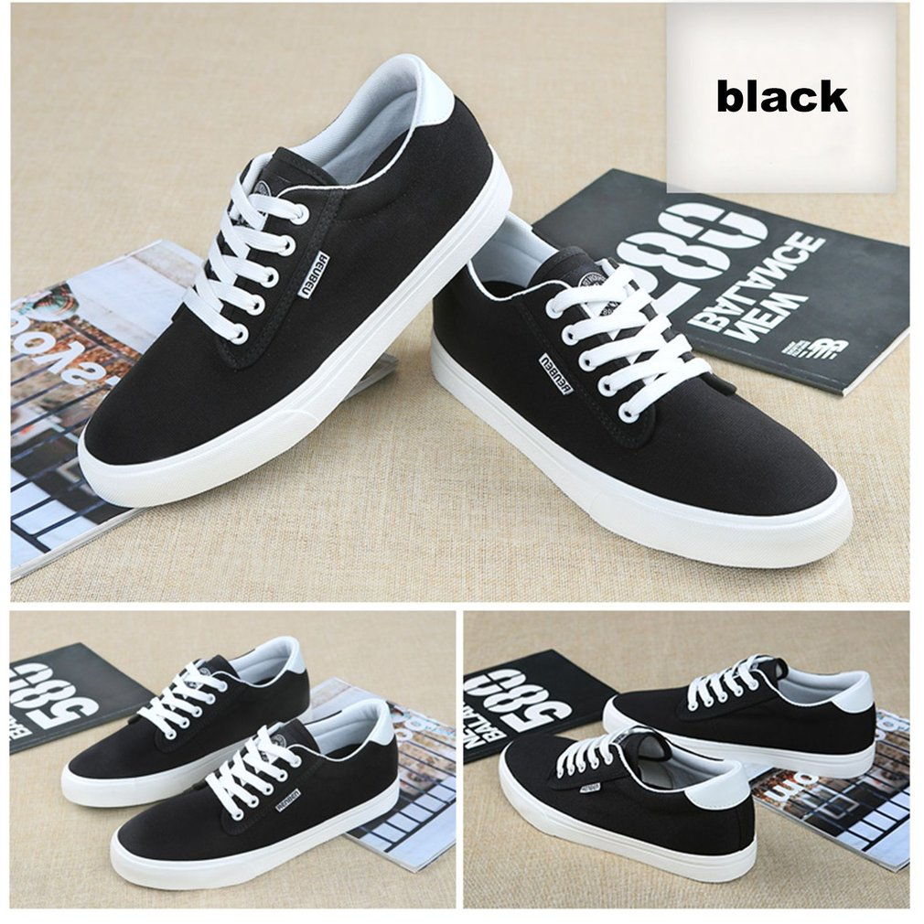 RenBen Casual Shoes Summer Style Men Young Boys Breathable Elevator Shoes