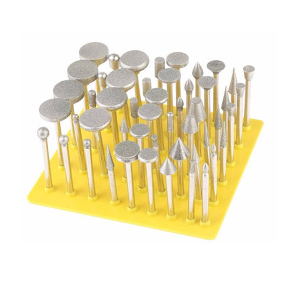 50Pcs Diamond Grinding Heads Electric Grinder Accessories For Rotary Dressers