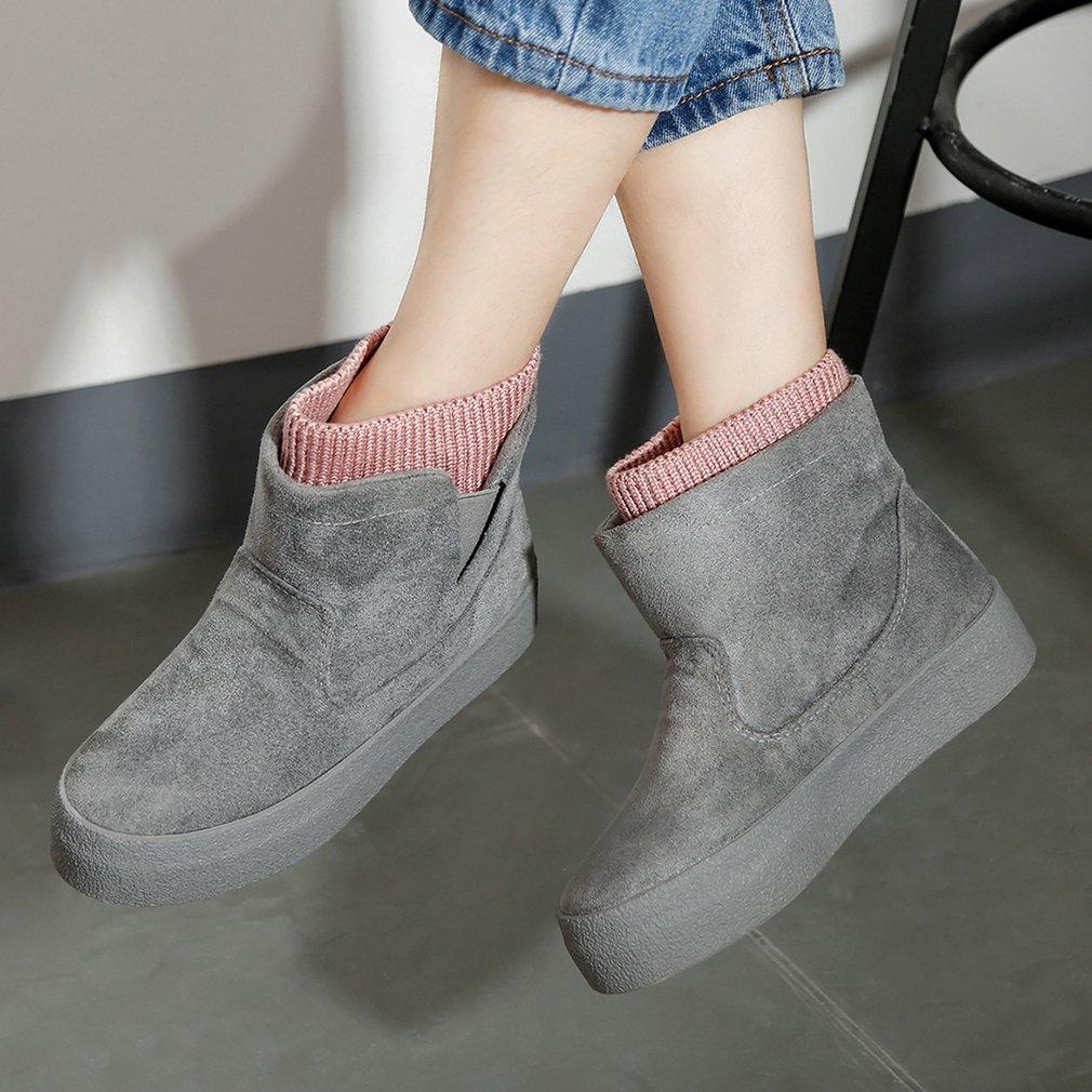 Renben 8685 Snow Boots Thicken Velvet Women's Fashion Short Boots for Winter