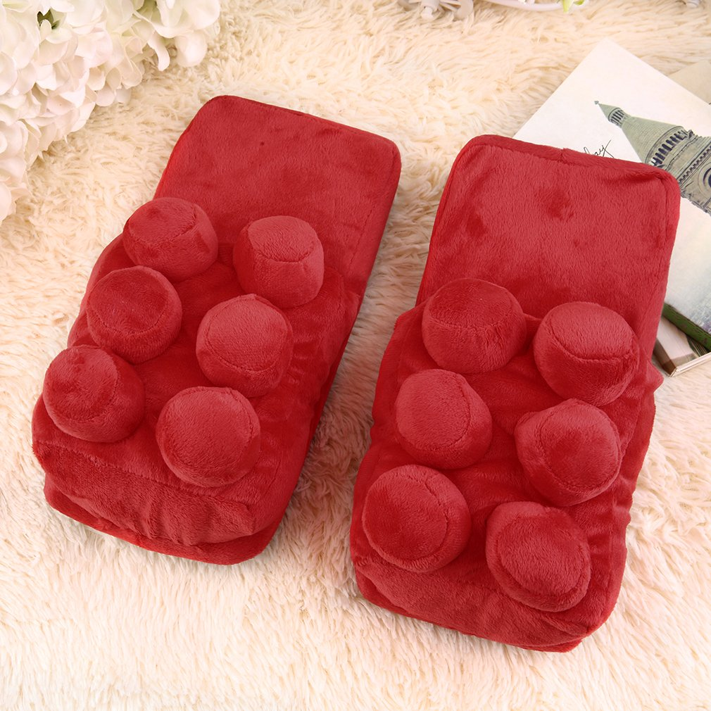 Winter Women Men Fleece Warm Sheep Soft Indoor Home Slippers Shoes