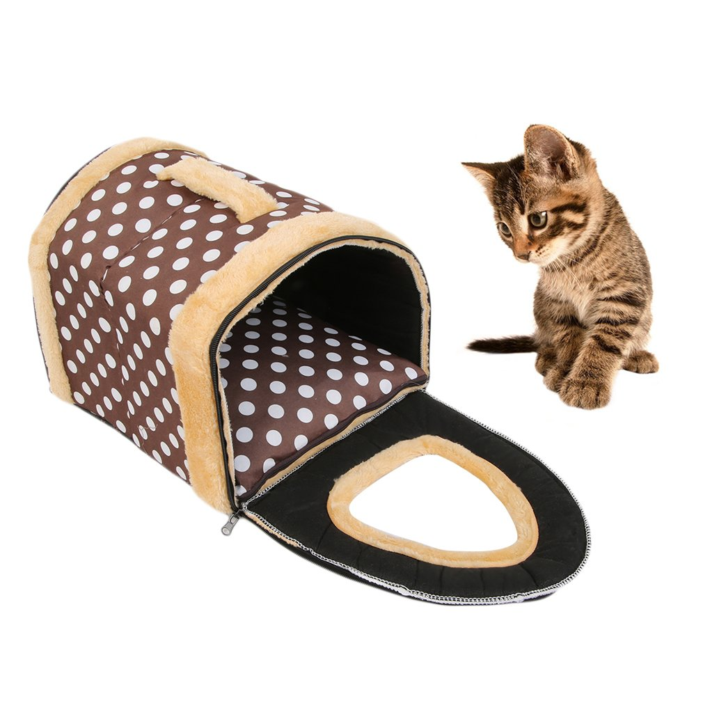 New Unique Design Teddy Puppy Dog Pet Cat House Removable Warm Soft Bed House