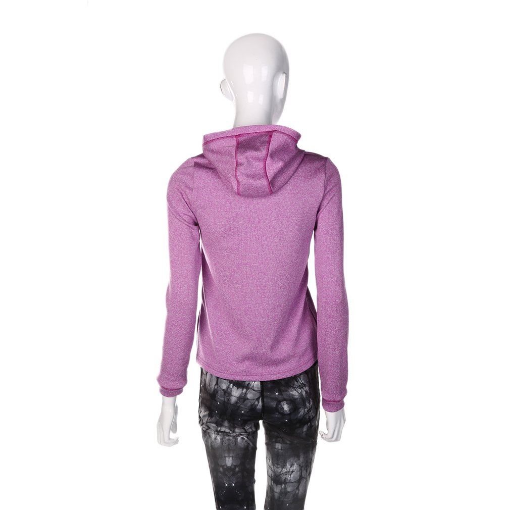 Women New Cardigan Sports Coat Long-sleeved Hooded Jacket Outwear Tops