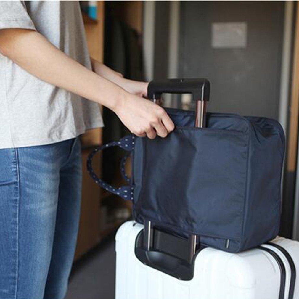 Multi Functional Portable Luggage Handbag, Blue
