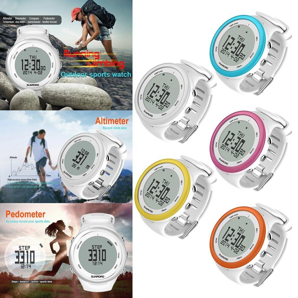 SUNROAD Waterproof Backlit Men Woman Outdoor Sports Digital Smart Watch FR852A