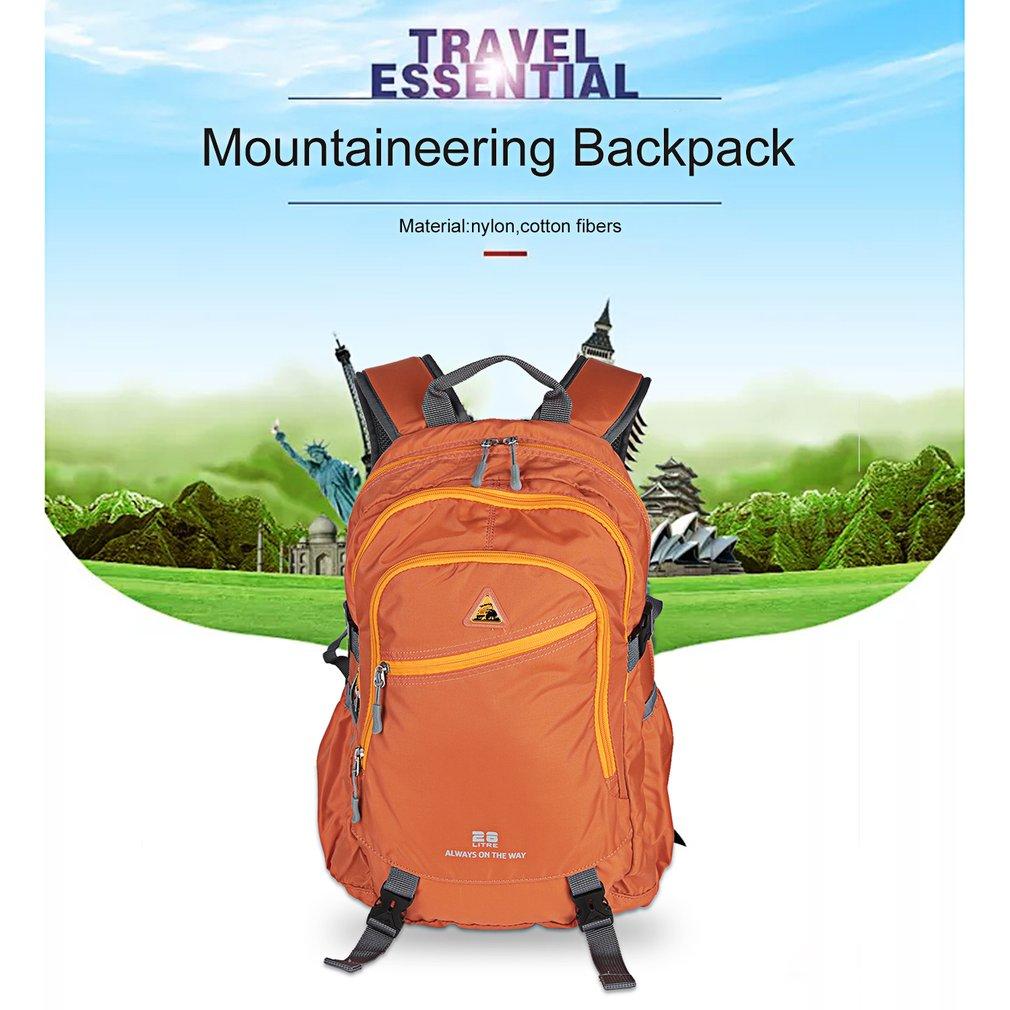 Outdoor Waterproof Mountaineering Backpack Multifunctional Travelling Bag