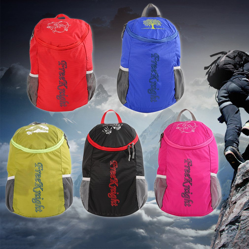 Unisex Ultralight Waterproof Nylon Fabric Hiking Backpack Folding Bag Hiking