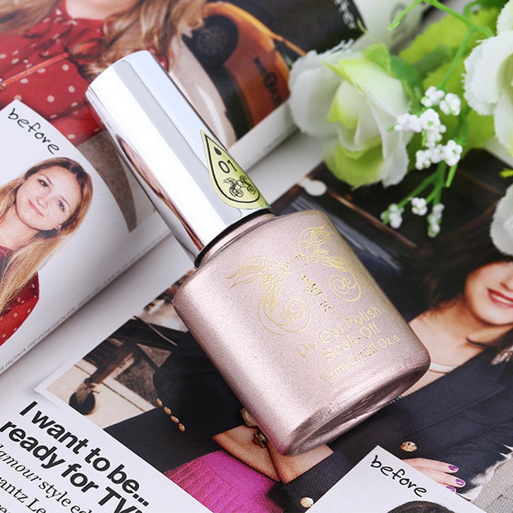 12 Different Colors Nail Polish Fashionable Style Luminous Paint Nail Gel