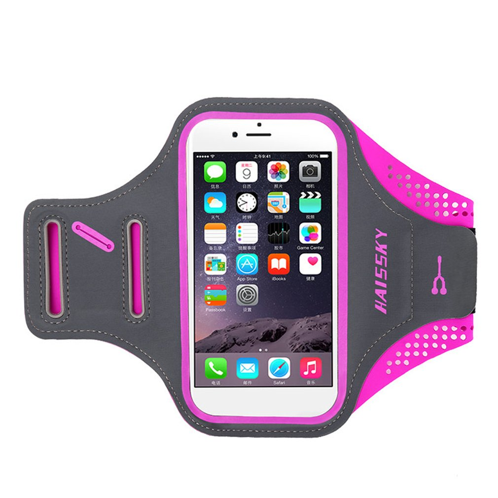 Women Men Waterproof Mobile Phones Arm Band Bag For Outdoor Running Sports
