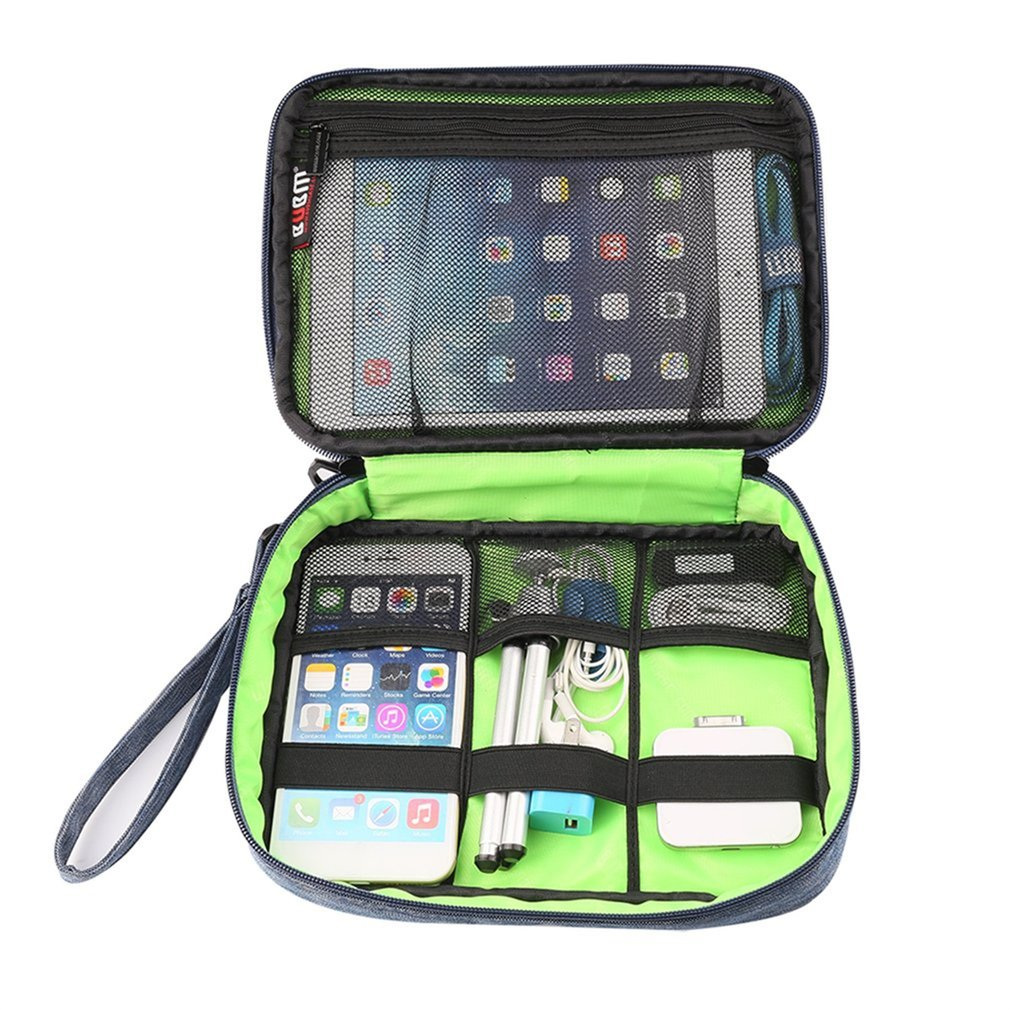1 pcs Digital Devices Storage Collection Bag Case For MP3 U Disk Data Wire