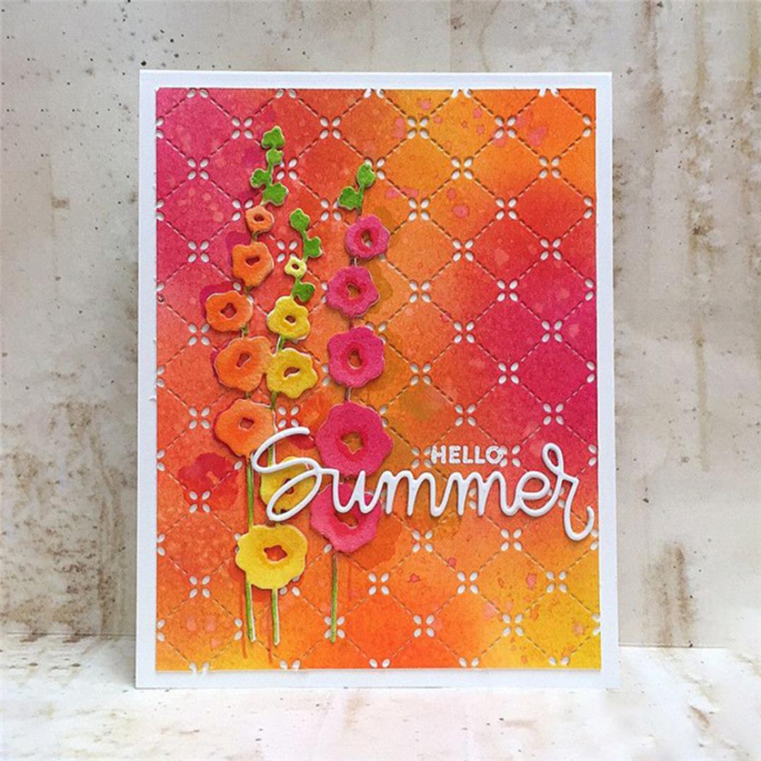 Flower Metal Cutting Dies DIY Scrapbooking Paper Cards Album Art Photo Stencil