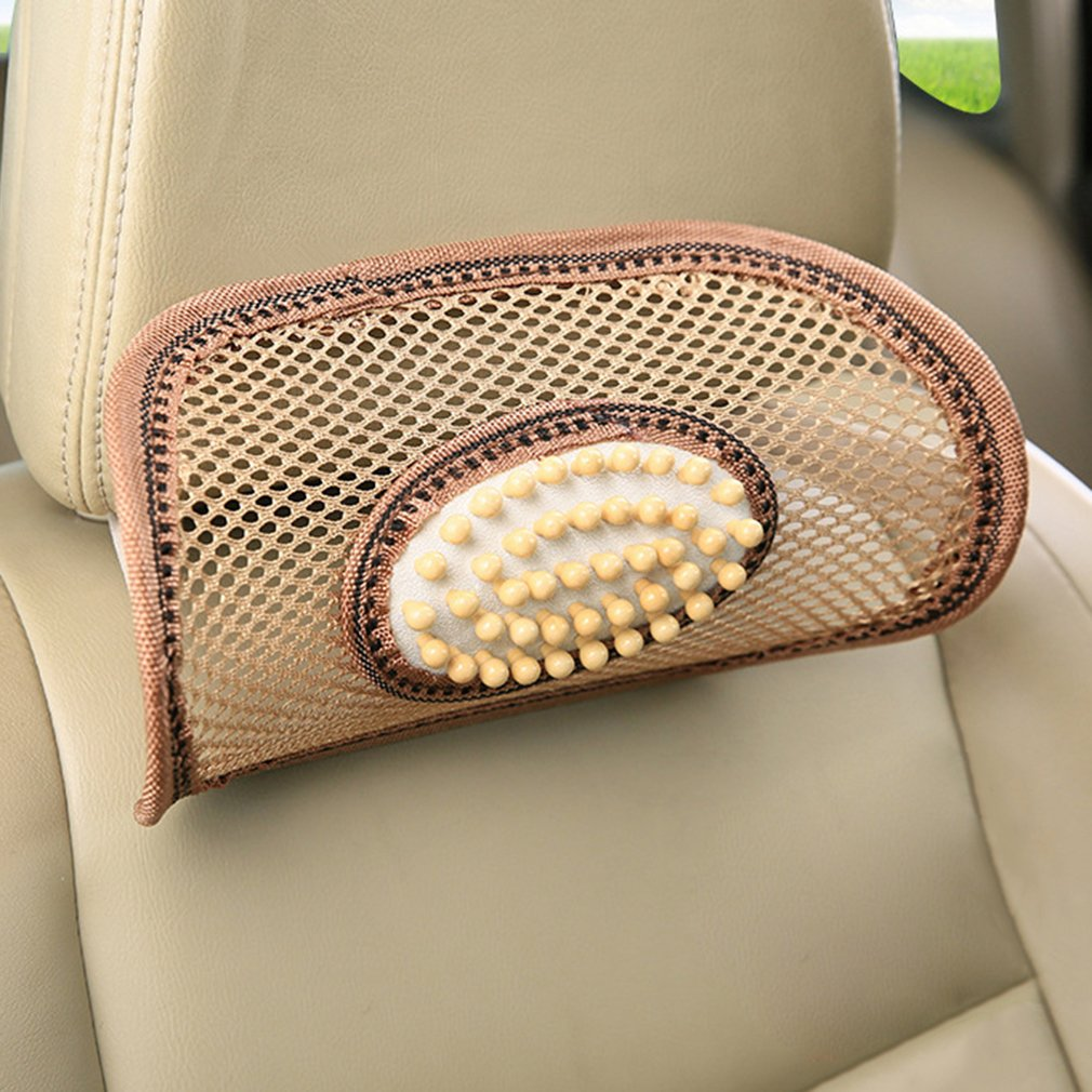 Universal Wooden Beads Massage Cushion Pillow for Car Home or Office Use