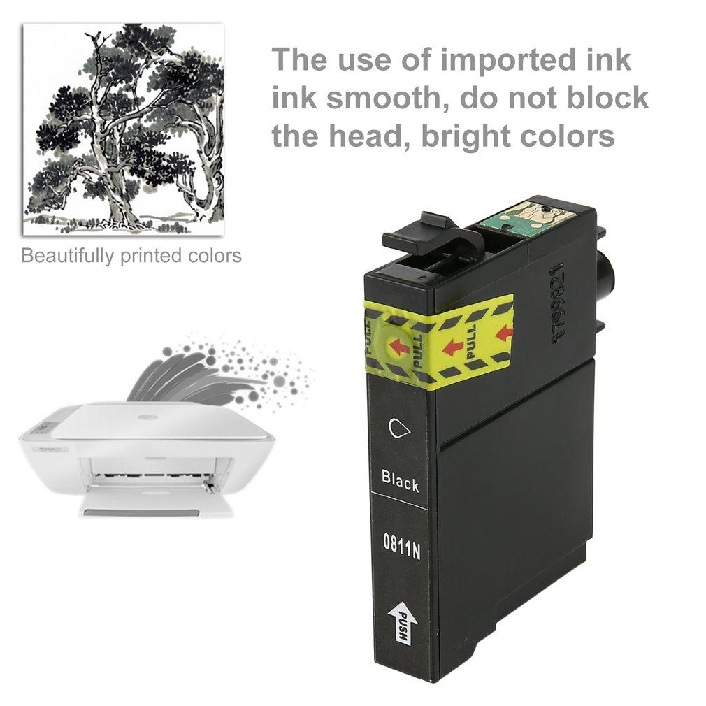 Smudge-free Ink Jet Cartridge Non-OEM for Epson Stylus Photo TX700/TX800/T50