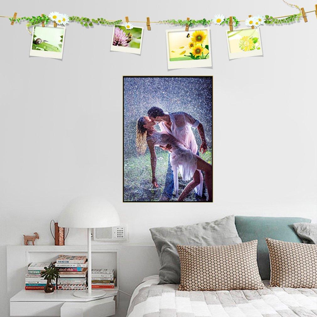 Megayouput Diy Diamond Embroidery Lovers Dancing in the Rain Pattern J742